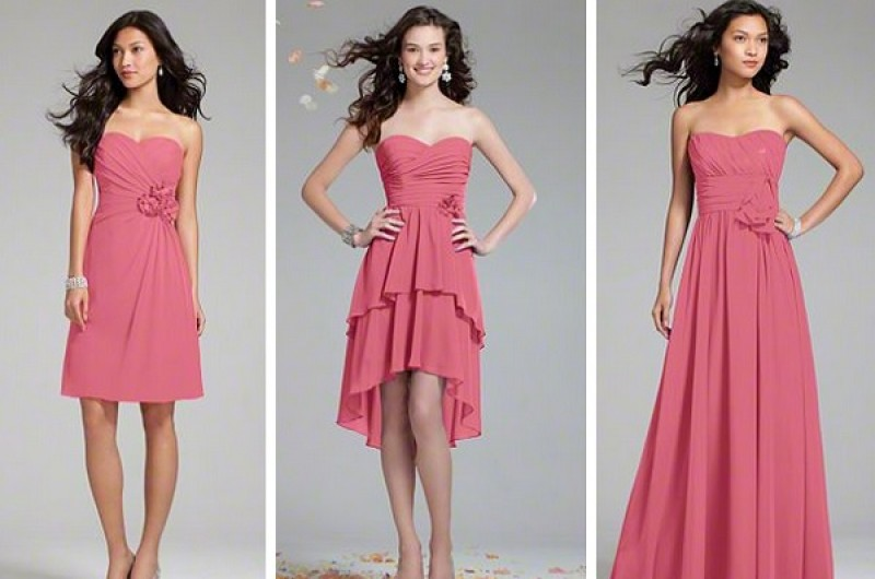 bridesmaid dress guide one