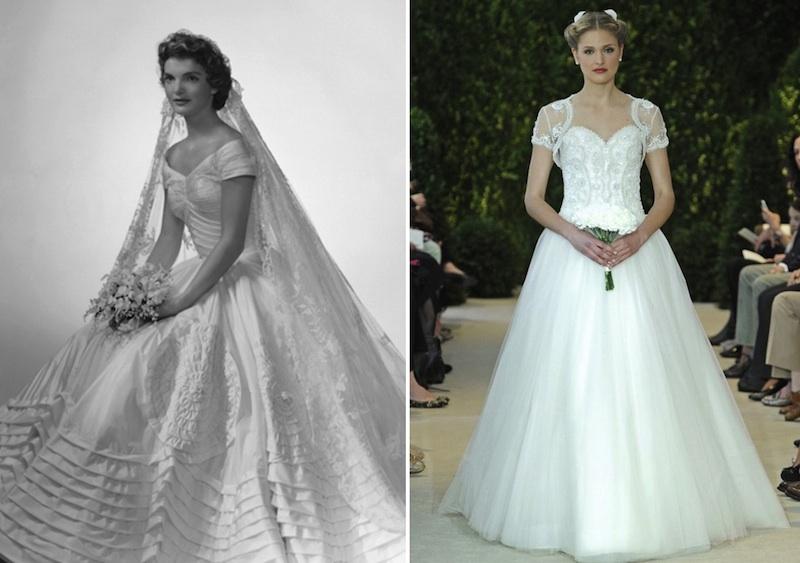 5 Modern Day Wedding Dresses Inspired By 20th Century