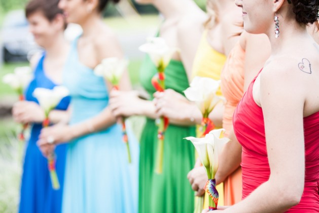 rainbow-bridesmaid-dresses-wedding