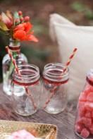 Mason jar decor | Photography by Valentine's Day Picnic Inspiration | Emily Louise Photography