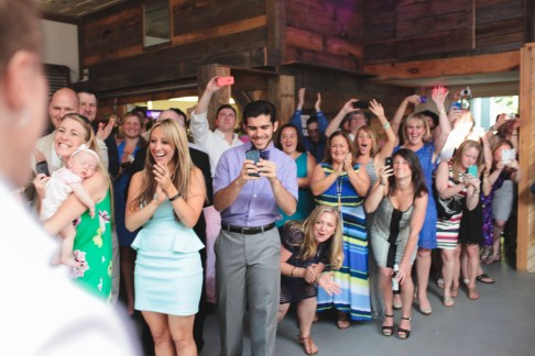 Amy and Erin Coffeehouse Wedding Reception   Photography by Brett Alison Photography