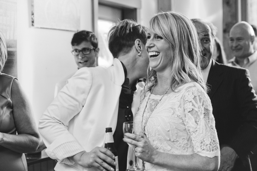Amy and Erin Coffeehouse Wedding Reception   Photography by Brett Alison Photography3