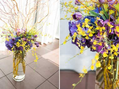 purple-and-gold-wedding-flowers