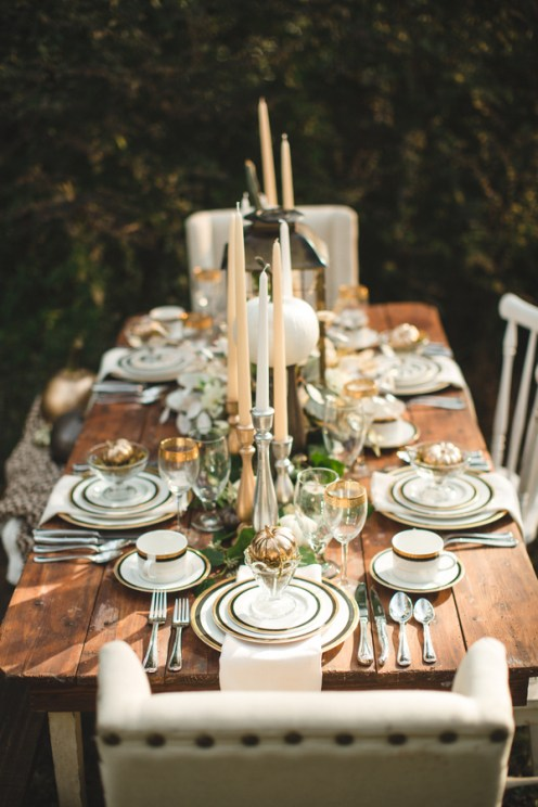 A Budget Friendly Pottery Barn Inspired Tablescape For