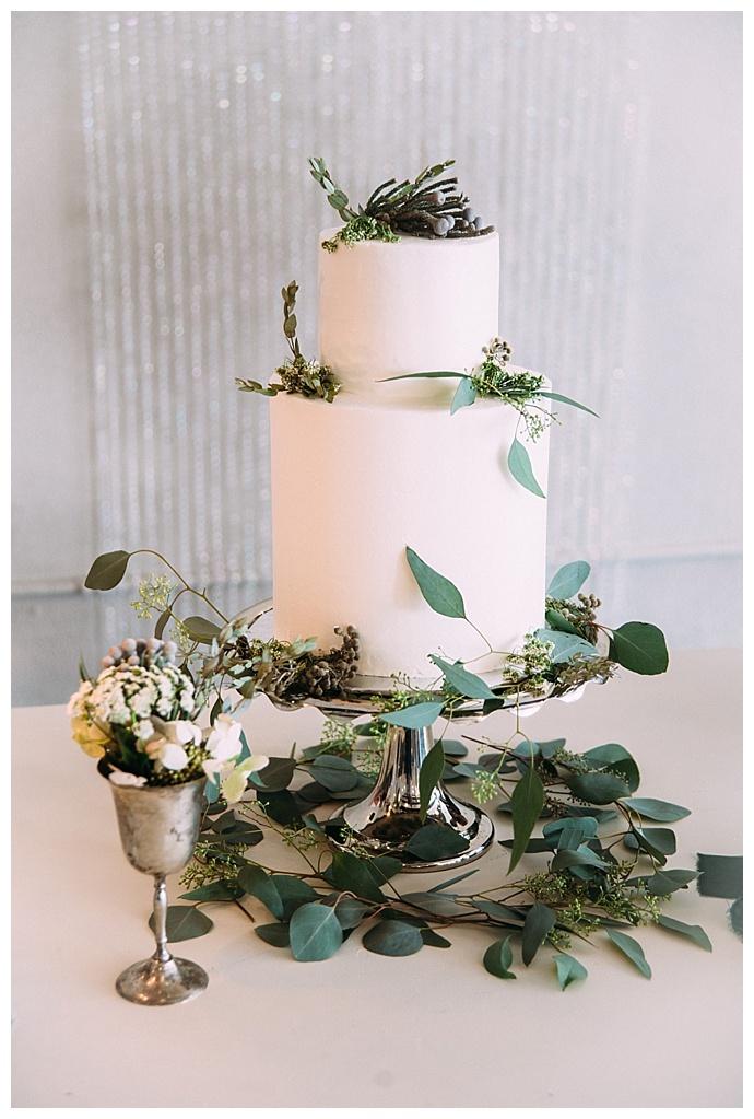 Lush Green and Gray Wedding Inspiration  Love Inc