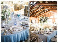 Meresa and Eric's Dreamy Dusty Blue Wedding at Walker's