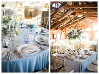 Meresa and Eric's Dreamy Dusty Blue Wedding at Walker's ...