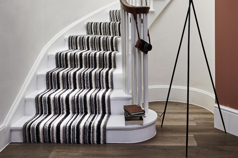 Stylish Staircase Ideas To Suit Every Space Loveproperty Com   Industrial Carpet For Stairs   Shaw Floors   Persian Carpet   Stair Railing   Carpet Workroom   Handrail