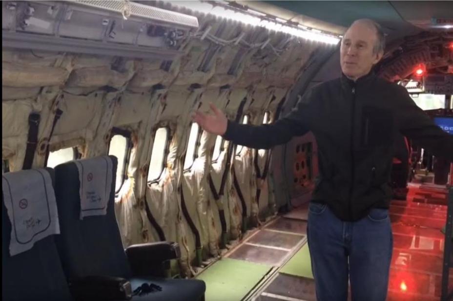 Самолет Боинг может быть использован в качестве защитного укрытия.