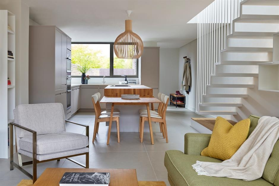 55 Design Secrets For Successful Open Plan Living Loveproperty Com   Open Concept With Stairs In Middle   Space   Dining Room   Kitchen   House   Living Room
