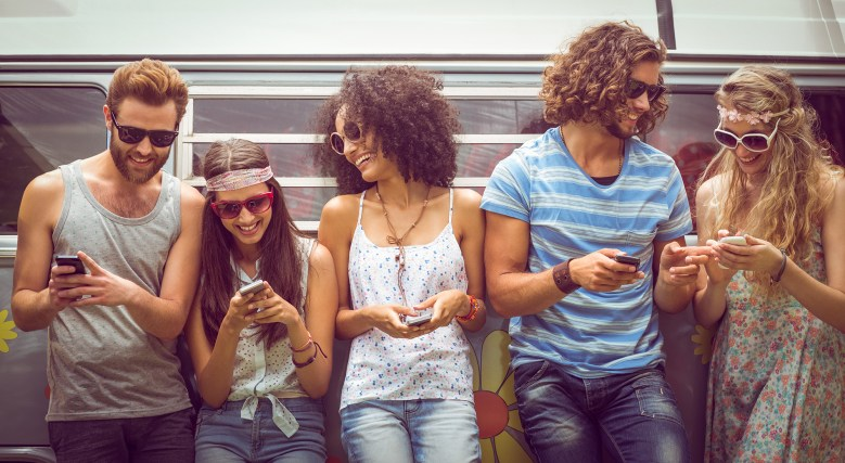 Un gruppo di amici  (Immagine: Shutterstock)