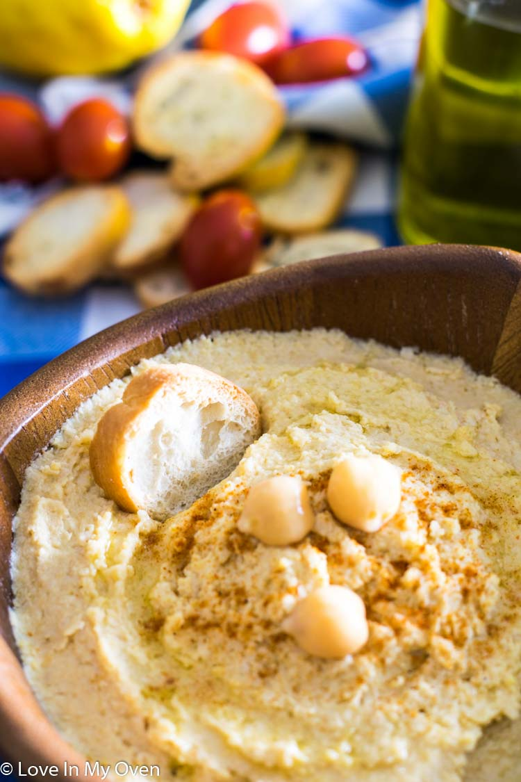 Roasted Garlic Hummus 3 - 10 Winning Game Day Recipes