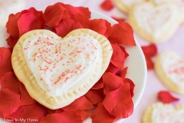 raspberry filled sugar cookies