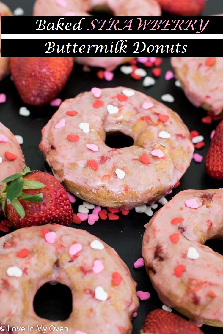 Light, airy, and packed full of strawberries, try these homemade donuts the next time you need a fun family breakfast or a mid-morning snack