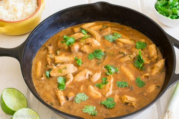 thai chicken peanut curry