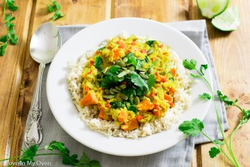 golden lentil curry