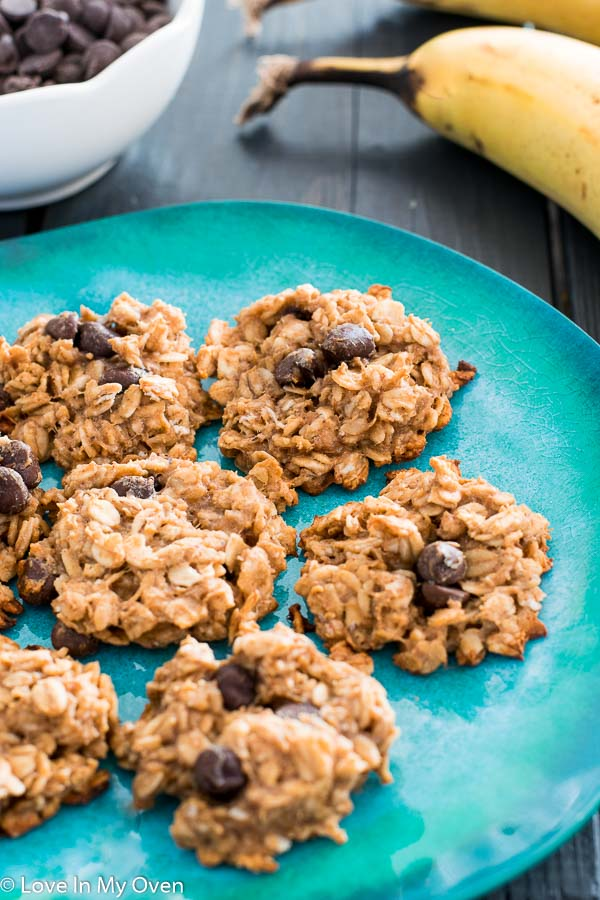 healthier oatmeal chocolate chip cookies