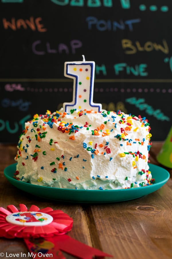 Healthy Smash Cake SMASH What Every 1 Year Old Needs For Their Birthday