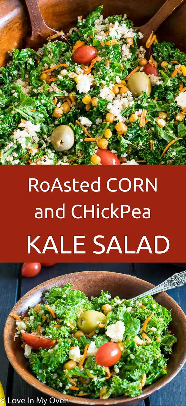 Roasted Corn and Chickpea Salad
