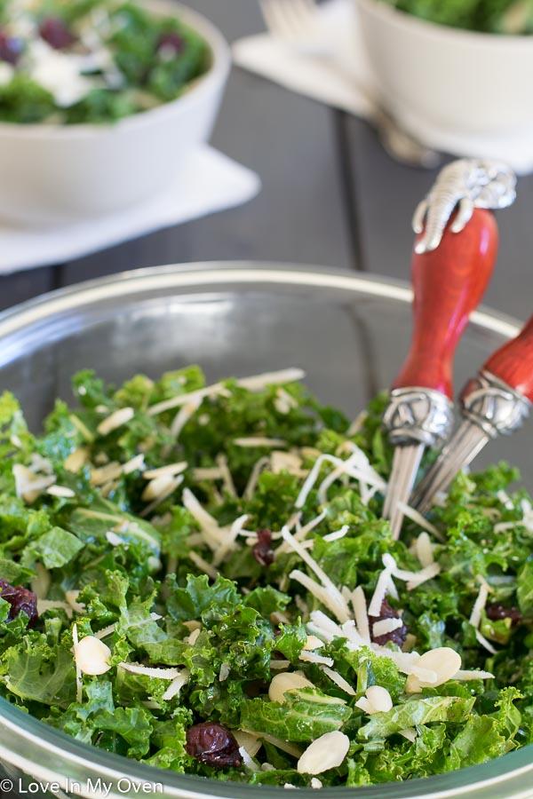 simple kale salad