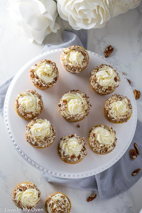 Carrot Cake Cupcakes 2019