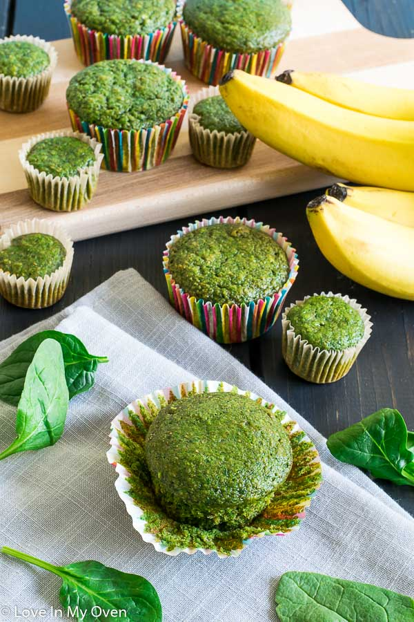 green monster muffins
