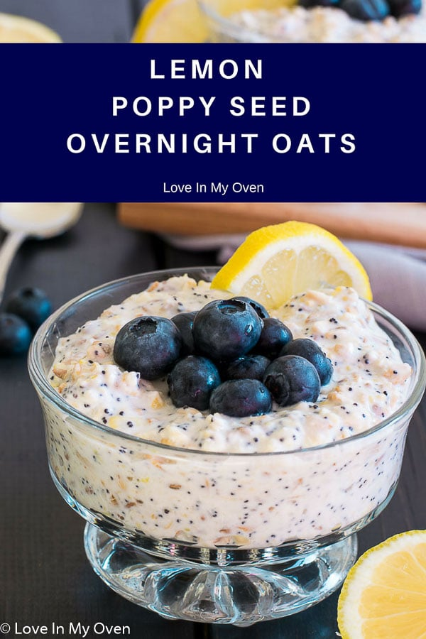 lemon poppy seed overnight oats