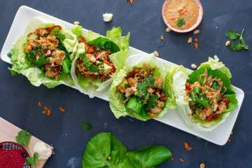 Thai Cauliflower Lettuce Wraps