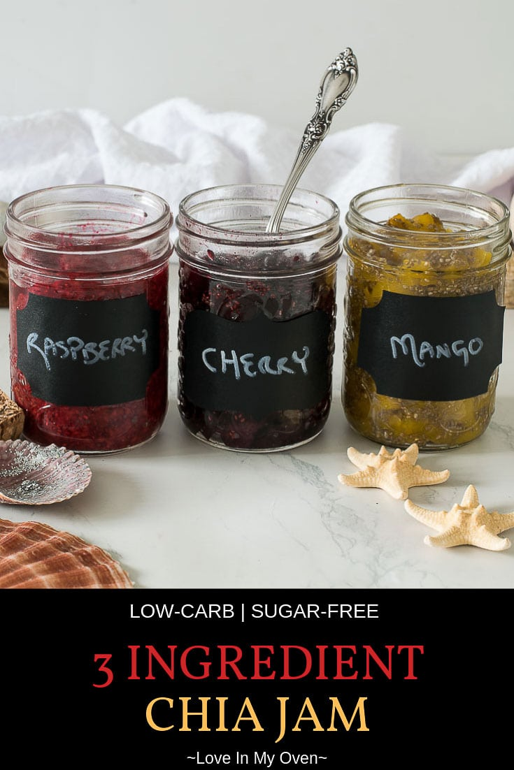 Easy 3 Ingredient Chia Jam