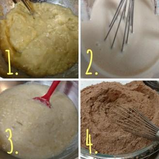 Vegan Chocolate Banana Bread Process Love is Kneaded (2)