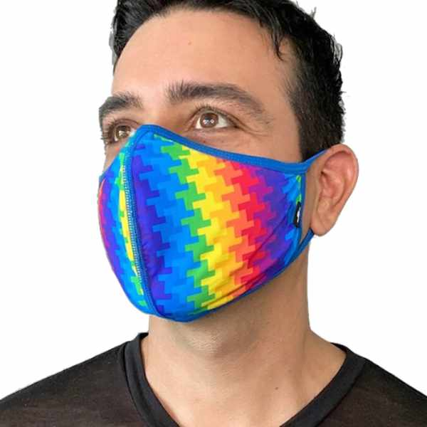 Electric Pride Glam Mask