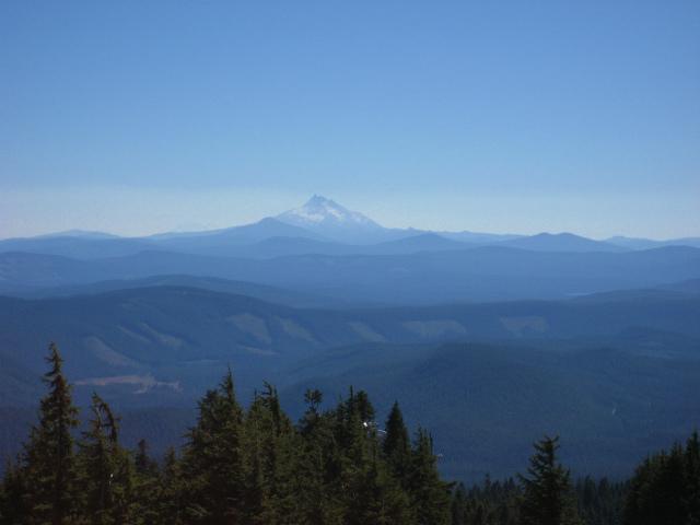 オレゴンの大自然のシンボル、マウントフッド!