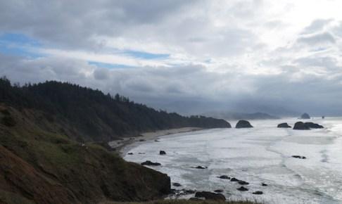 オレゴンの海