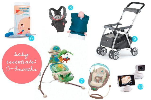Baby Essentials: 0-3 Months