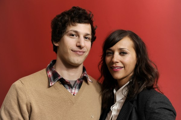 Andy Samberg & Rashida Jones' Sag Presentation Proves Perfect Hosting