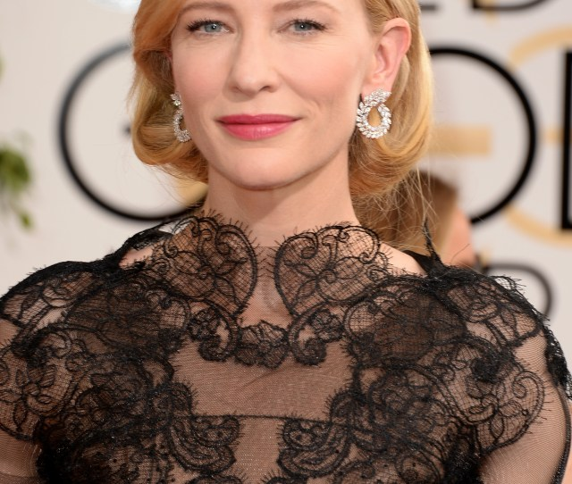 Cate Blanchetts 2015 Golden Globes Dress Was So Tight She Couldnt Do An Important Thing Video