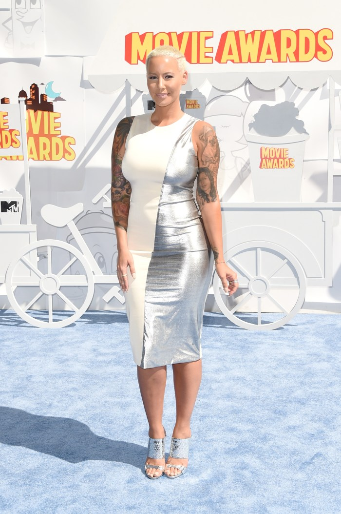 Amber Rose Wasn't At The 2016 Mtv Movie Awards For An