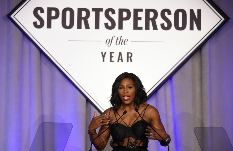 Image result for serena williams sportsperson of the year speech
