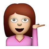 Image result for information desk person emoji