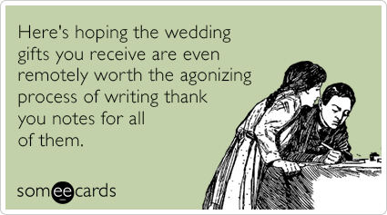 Image result for wedding gift meme