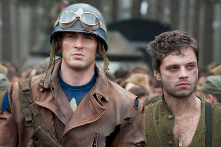 Image result for steve rogers and bucky barnes