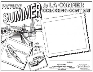 Picture Summer in La Conner Coloring Contest