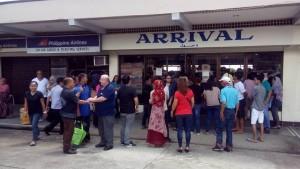 Arrival in Cotabato