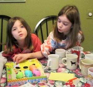 Easter egg decorating (2)