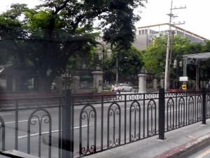 Manila Santo Tomas College, site of WW II Japanese prison camp