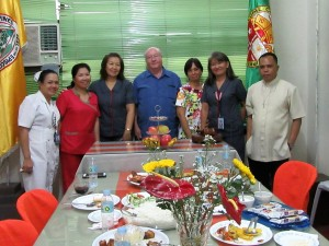 Lunch with Brent hospital senior staff (1)