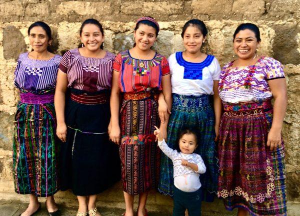 Leaders of Casa Flor Ixcaco