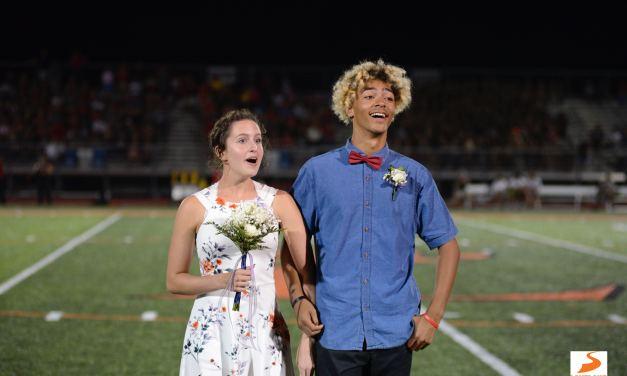 Loveland homecoming king, queen react to winning title