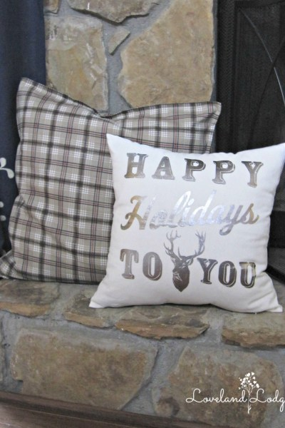 Frugal Friday: Christmas Pillows