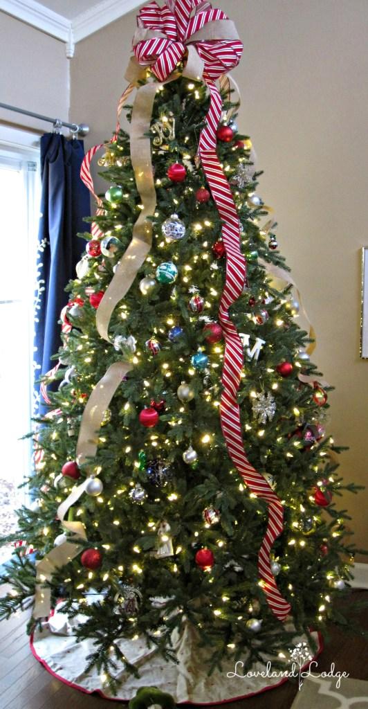 Our GE Christmas tree
